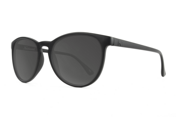 Knockaround - Mai Tais Black Sunglasses, Smoke Lenses