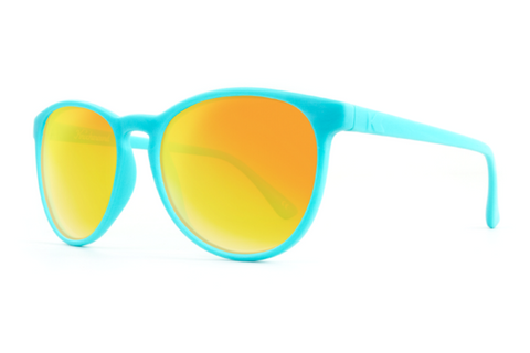 Knockaround - Mai Tais Turquoise Sunglasses, Sunset Lenses