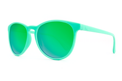 Knockaround - Mai Tais Wintergreen Sunglasses, Green Moonshine Lenses