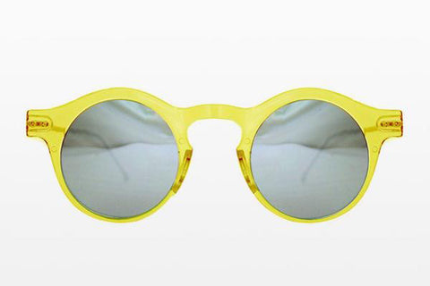 Spitfire - Nexus Yellow Sunglasses / Silver Mirror Lenses