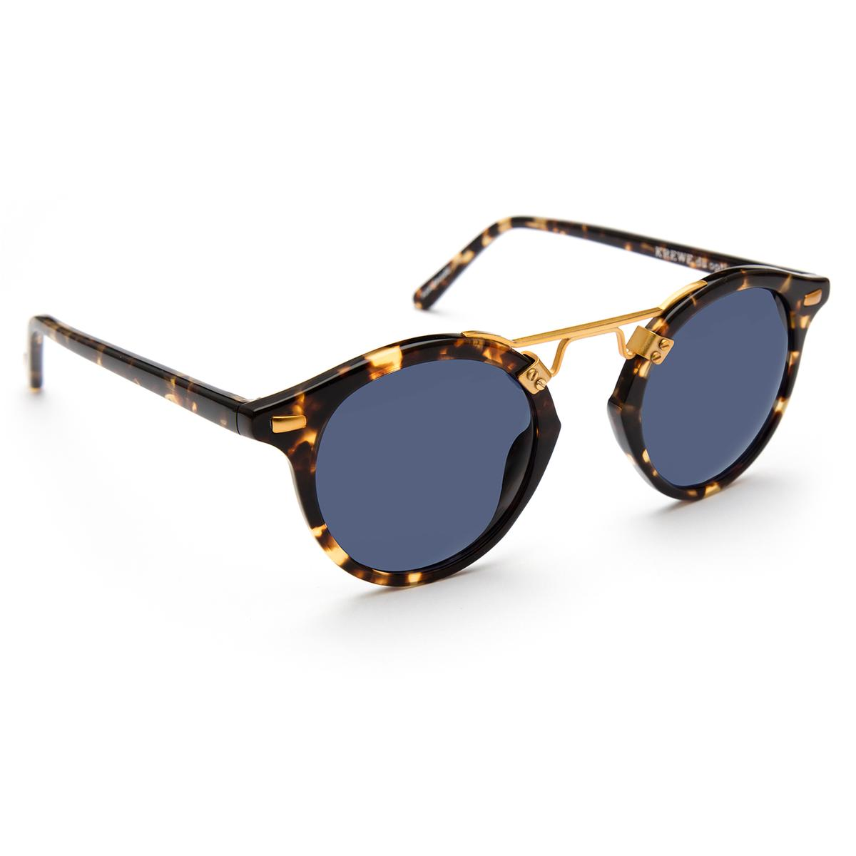 3438895555 ... Krewe - St. Louis Classics Bengal 24K Sunglasses   Blue Polarized Lenses  ...
