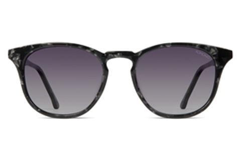 Komono - The Beaumont Acetate Black Marble Sunglasses