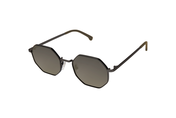 Komono - The Monroe Black Green Sunglasses