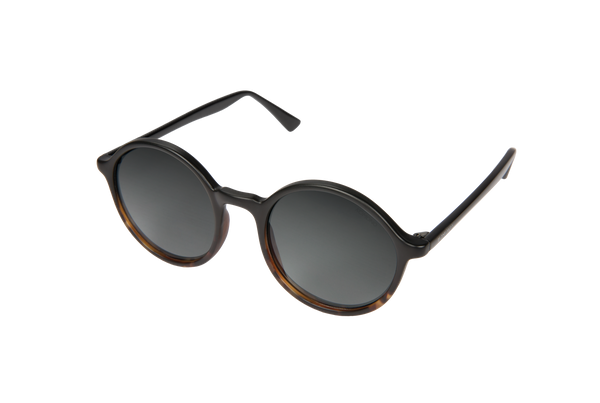 Komono - Madison Matte Black Tortoise Sunglasses