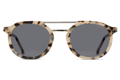 Komono - The Gilles Acetate Ivory Demi Sunglasses