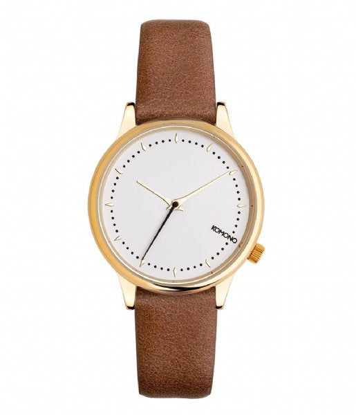 Komono - Estelle Prime Cognac Watch
