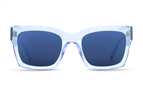 VonZipper - Roscoe Sky Crystal Blue Sunglasses / Navy Lenses