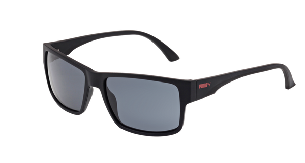 Puma - PU0015S Black Sunglasses / Grey Lenses