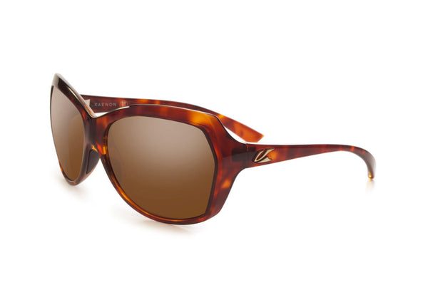 Kaenon - Shilo Tortoise Sunglasses, B12 Brown Lenses