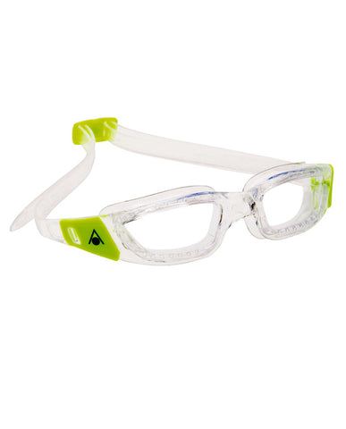 Aqua Sphere - Kameleon Jr Translucent Lime Swim Goggles / Clear Lenses