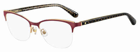 Kate Spade - Brieana 50mm Red Eyeglasses / Demo Lenses