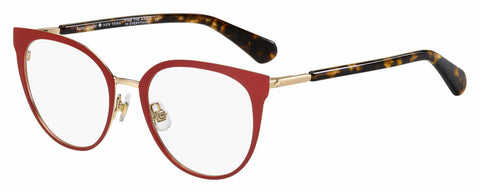 Kate Spade - Dariela 51mm Red Havana Eyeglasses / Demo Lenses