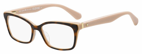 Kate Spade - Jeri 50mm Havana Redcor Eyeglasses / Demo Lenses