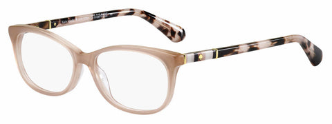 Kate Spade - Kaleigh 50mm Pink Nude Eyeglasses / Demo Lenses