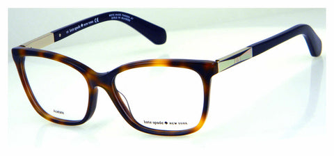 Kate Spade - Kariann 54mm Dark Havana Gold Eyeglasses / Demo Lenses
