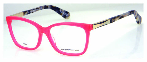 Kate Spade - Kariann 52mm Pink Gold Eyeglasses / Demo Lenses