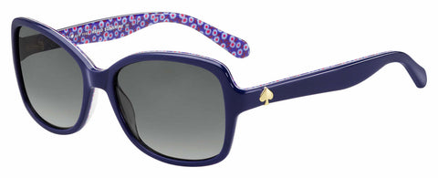 Kate Spade - Ayleen P S Blue Palladium Sunglasses / Gray Polarized Lenses