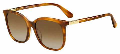 Kate Spade - Caylin S 54mm Brown Sunglasses / Brown Gradient Lenses