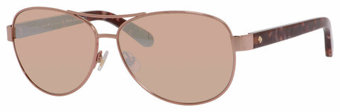 Kate Spade - Dalia 2 S Rose Gold Sunglasses / Brown Rose Mirror Lenses