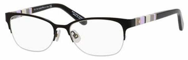 Kate Spade - Valary Us 51mm Black Eyeglasses / Demo Lenses