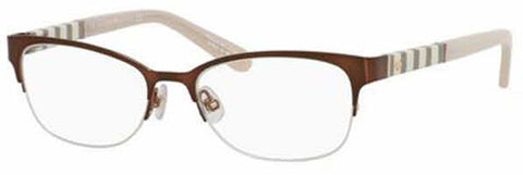 Kate Spade - Valary Us 51mm Brown Eyeglasses / Demo Lenses