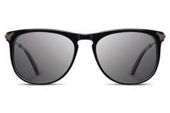 Shwood - Keller Acetate Black / Grey Polarized Sunglasses