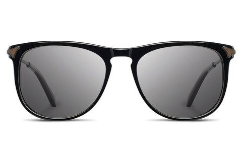 Shwood - Keller Acetate Black / Grey Sunglasses