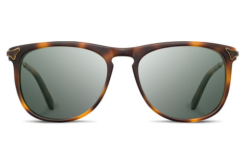 Shwood - Keller Acetate Matte Brindle / Grey Polarized Sunglasses