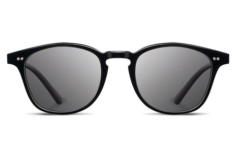 Shwood - Kennedy Acetate Black / Grey Sunglasses