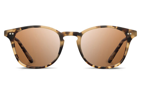 Shwood Kennedy Acetate Matte Havana / Brown Polarized Sunglasses