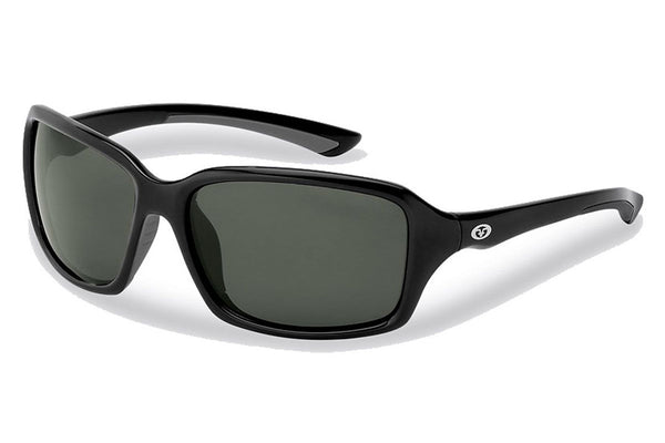 Flying Fisherman - Kili 7711 Black Sunglasses, Gray Smoke Lenses