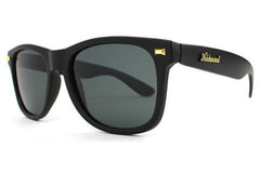 Knockaround - Fort Knocks Matte Black Sunglasses, Smoke Polarized Lenses