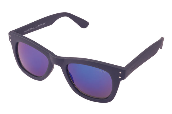 Komono - Allen Midnight Blue Rubber Sunglasses