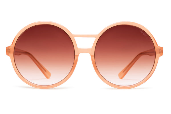 Komono - Coco Flamingo Sunglasses, Brown Lenses