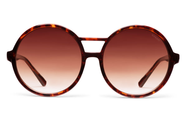 Komono - Coco Tortoise Sunglasses, Brown Lenses