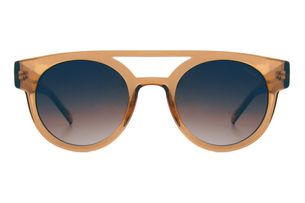 Komono - Dreyfuss Latte Sunglasses, Black Lenses