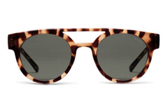 Komono - Dreyfuss Tortoise Sunglasses, Brown Lenses