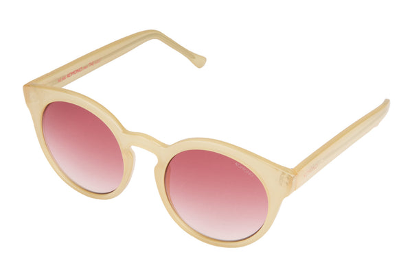 Komono Lulu Pale Blush Sunglasses