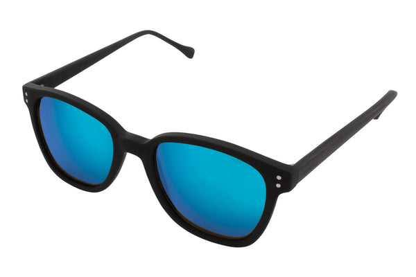 Komono - Renee Black Rubber Sunglasses