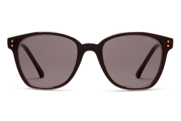 Komono - Renee Black Tortoise Sunglasses, Black Lenses