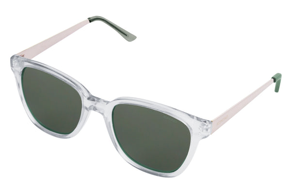 Komono - Renee Metal Series Clear Silver Sunglasses