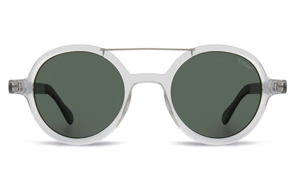 Komono - Vivien Metal Series Clear Silver Sunglasses
