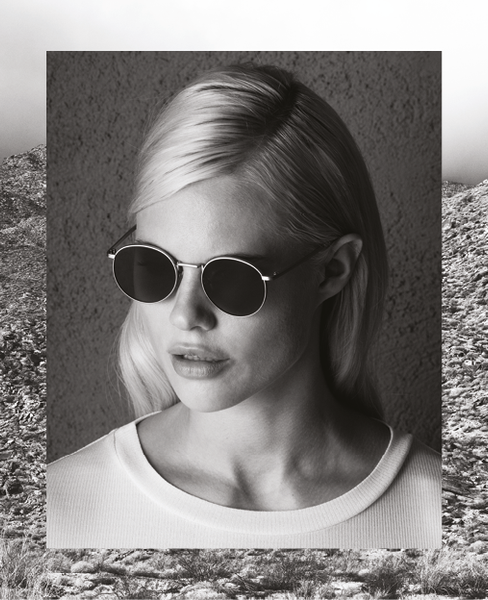 Komono - The Taylor White Gold Sunglasses