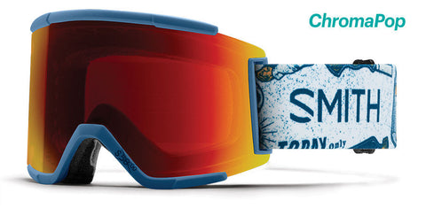 Smith - Squad XL Kindred Snow Goggles / ChromaPop Sun Red Mirror Lenses