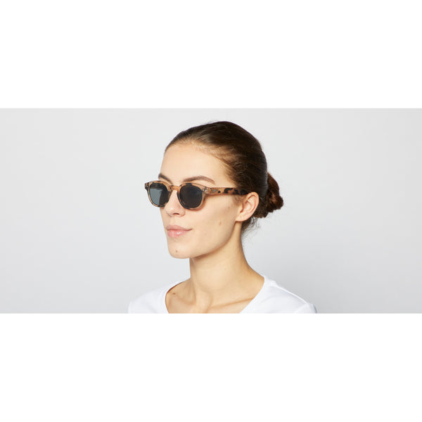 Izipizi - #C Light Tortoise Sunglasses / Grey Lenses