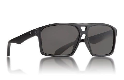 Dragon - Channel Matte Black Sunglasses / Smoke Lenses