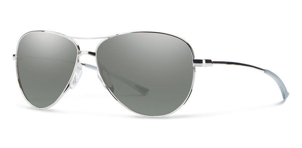 Smith Langley Silver Sunglasses, Platinum Lenses
