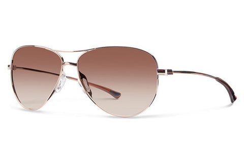 Smith - Langley Rose Gold Sunglasses, Sienna Gradient Lenses
