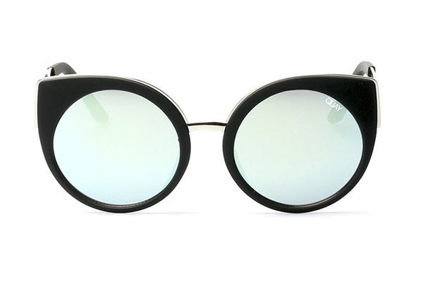 Quay Last Dance Black / Mint Sunglasses