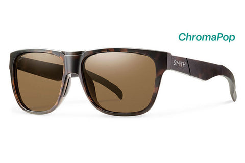 Smith - Drake Tortoise Sunglasses, ChromaPop Polarized Brown Lenses